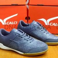Sepatu Futsal / Sneakers Calci Dominion Blue Burg Jeans ORIGINAL