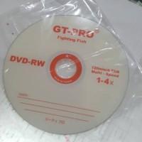 DVD-RW DVDRW GT-PRO 4x DVD Kosong Rewriteable Ecer Eceran