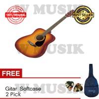 Yamaha Guitar F 310 TBS - Tobacco Brown Sunburst + Softcase + 2 Pick