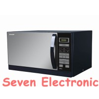 Sharp Microwave Oven R-728(K)-IN Black Gojek