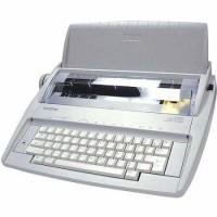 MESIN KETIK ELEKTRIK ELECTRIC TYPEWRITER AUTOMATIC BROTHER GX 6750