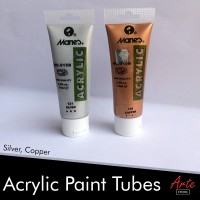 Cat Acrylic Tube Silver / Gold 75ml