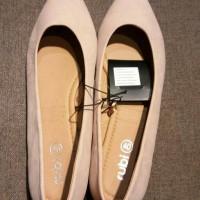 Jual sepatu wanita rubi / flat shoes rubi cotton in Murah