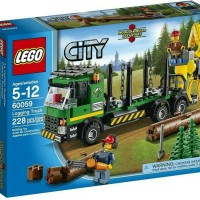 Lego City 60059 - Logging Truck