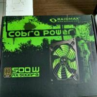 Power Supply ATX Raidmax 500w RX-500AF-B 80+ Bronze