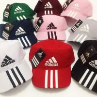 Jual Topi Adidas Bordir / Baseball Cap Adidas Unisex (Pria dan Wanita) Murah