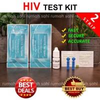HIV Test / HIV Strip / Alat Tes HIV (Isi 2 strip)