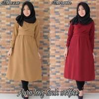 Atasan Wanita Ayra Long Tunik / Blouse / Dress / Gamis / Baju Muslimah
