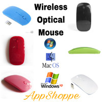 Mouse Wireless Magic Mouse Optical 2.4GHz Macbook Laptop Windows 7-10