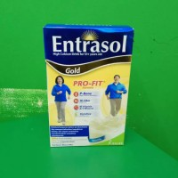 ENTRASOL GOLD VANILA 600 G