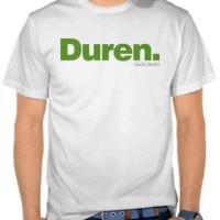 Tshirt kaos cotton combed Duren (duda keren)