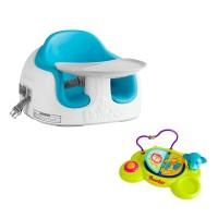 Bumbo Multi Seat + Play Top Safari Blue 6602