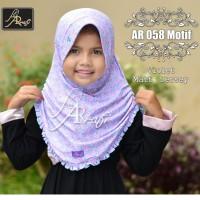 jilbab Ar Rafi AR 058 Kids Motif