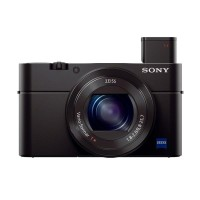 Sony DSC RX100 M3 Kamera Pocket - Hitam [20.1 MP] + Free Sony SDHC 8