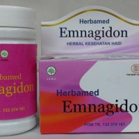 Herbal Emnagidon Herbamed, Membantu Mengatasi Telat Datang Haid