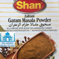 SHAN Zafrani Garam Masala Powder / 100g / Premium Quality