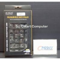 M-TECH Numeric Keypad USB Numerik Keyboard - MTC-KEY-NMUS