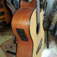 Gitar Akustik Elektrik EQ 7545 Natural FREE TAS dan PICK