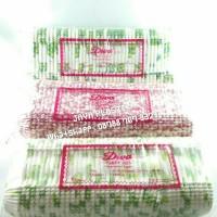DIVA CAKE CASES OVAL MEDIUM 1 ( 125MM X 85 MM ) BUNGA