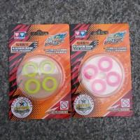 Auldey 676913 blazing teen respone pad yoyo soft green & pink stabilo