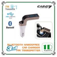 Jual 3-In-1 Car Charger, Bluetooth & FM Transmitter CARG7/ Aksesoris Mobil Murah