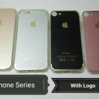 HOT!!! DRAWING FUZE TPU CLEAR CASE IPHONE 6 PLUS WITH LOGO