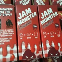 Jual JAM Monster Strawberry 100ml Premium US Liquid Vapor Murah
