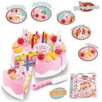 Mainan Anak Cewek Kue Ulang Tahun - DIY Fruit Cake 37Pcs