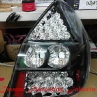 Stoplamp Honda Jazz GD3 2002 - 2008 Double LED Black JDM Eagle Eyes