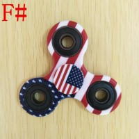 Fidget Spinner - Premium Quality NEW 2017 MOTIF ARMY FLAG USA UK GLOW
