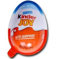 Kinder Joy Choco Boys 20 gr Cemilan Coklat Anak
