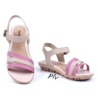 Jual Sepatu Sandal Wanita Platform Ankle Strap AD07 Salem Murah