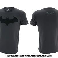 Jual T-Shirt / Baju / Kaos Superhero Topgear Batman Arkham Asylum Murah