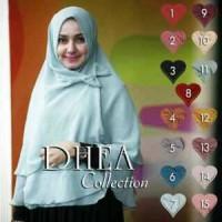 Jual jilbab - hijab syiria DHEA PITA 3 LAYER - khimar Dea - khimar dhea Murah