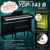Yamaha Arius YDP 143 / YDP-143 / YDP143 ( Penerus YDP-142 ) - Digital