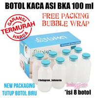 Jual Botol Kaca ASI BKA 100 ml Grosir / Botol Kaca ASI BKA 100ml Grosir Murah