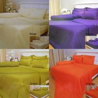 Bed Cover TANPA Sprei Vallery King Koil Bahan Serat Aloe Vera