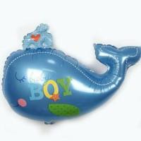 Balon Foil Ikan Baby Boy/ Balon Baby Shower by ESSLSHOP2