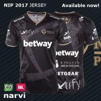 Jersey NIP 2017 Black | Baju Kaos Polo Gaming Dota 2 Ninjas In Pyjamas