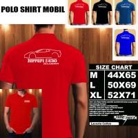 Polo Shirt Mobil FERRARI F430 Scuderia 747 SILUET 2/Baju Kaos Kerah