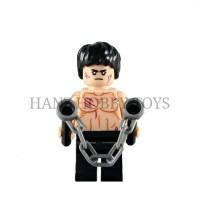 LEGO MINI FIGURE BRUCE LEE
