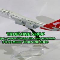 Miniatur Pesawat Terbang QANTAS (Diecast / Die Cast FULL BESI / METAL)