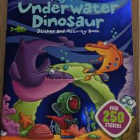 Harga buku import anak my cool underwater dinosaur sticker and activity | antitipu.com