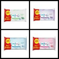 Mitu Baby Wipes Tissue [ 50 pcs ] Buy 1 Get 1