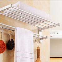 Rak GANTUNGAN Handuk Dinding toilet Aluminium rack kamar mandi UNIK