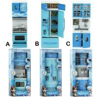 Jual Mainan Anak Kitchen Frozen Modern Play Set Mini Blue Murah