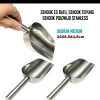 Sendok Sekop I Sendok Es Batu Stainless Steel Uk Medium