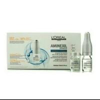 Serum LOREAL Aminexil 10 ampul tonic penyubur rambut tonik expert