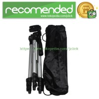 Weifeng Portable Tripod Stand 4-Section Aluminium Legs with Brace - WT