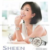 Jual Jam Tangan Wanita Merk Casio Sheen Ori Bm type : 5512 Baterai Murah